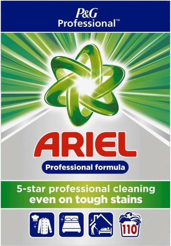 Ariel waspoeder actilift Voordeelverpakking | 110 wasbeurten, 7,15KG - Ariel Regular Waspoeder | Voor alle soorten was