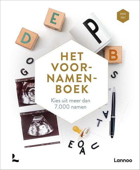 Boek cover Het voornamenboek van Mama Baas (Hardcover)
