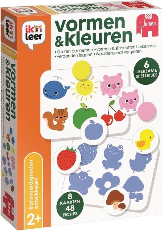 Afbeelding van het spel Jumbo Spel Ik Leer Vormen & Kleuren