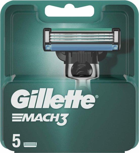 Gillette Scheermesjes Mach3 5 stuks