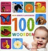 Boek cover Mijn eerste flapjesboek 100 woorden van Diverse auteurs (Hardcover)