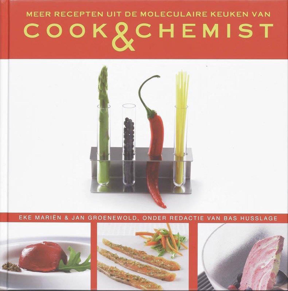 Meer recepten uit de moleculaire keuken van Cook & Chemist