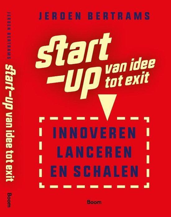 Boek cover Start-up: van idee tot exit van Jeroen Bertrams (Paperback)