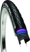 Buitenband 28x1 38 37-622 reflectie e-bike ready cst e-series pro zwa - ZWART