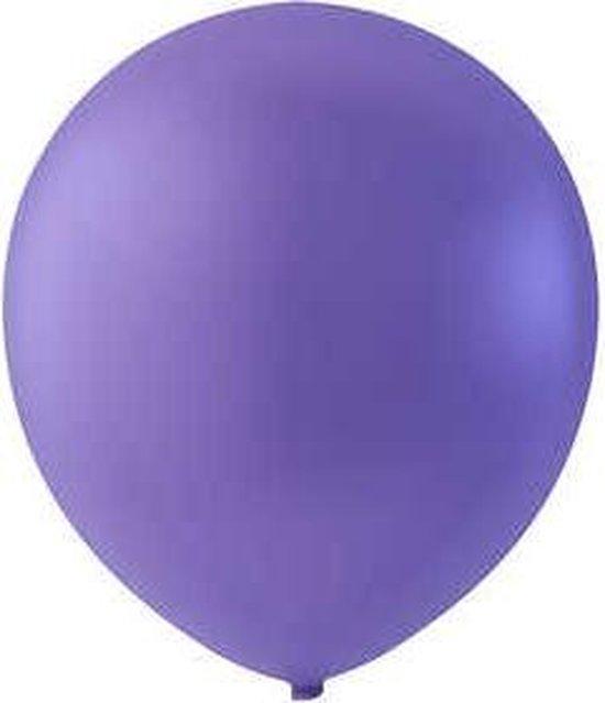 Creotime Ballonnen Voor Helium Paars 10 Stuks
