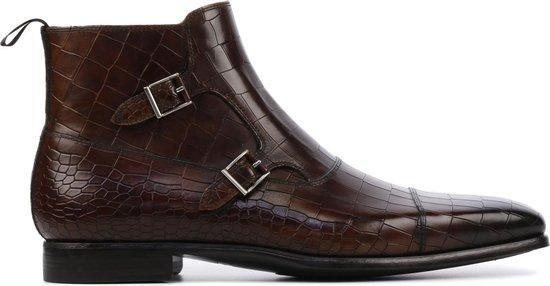 Magnanni Mannen Boots -  20119 croco - Bruin - Maat 43 1/2