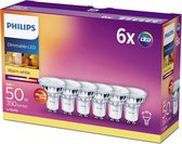 6-pack Philips warmglow 5W (50W) dimbaar