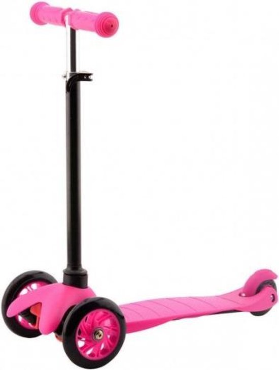 Johntoy Sports Active City Kinderstep - Step - Jongens en meisjes - Roze