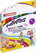 Edding 13 Funtastics Magic Fun Kinderkleurstift Set van 8 Assorti