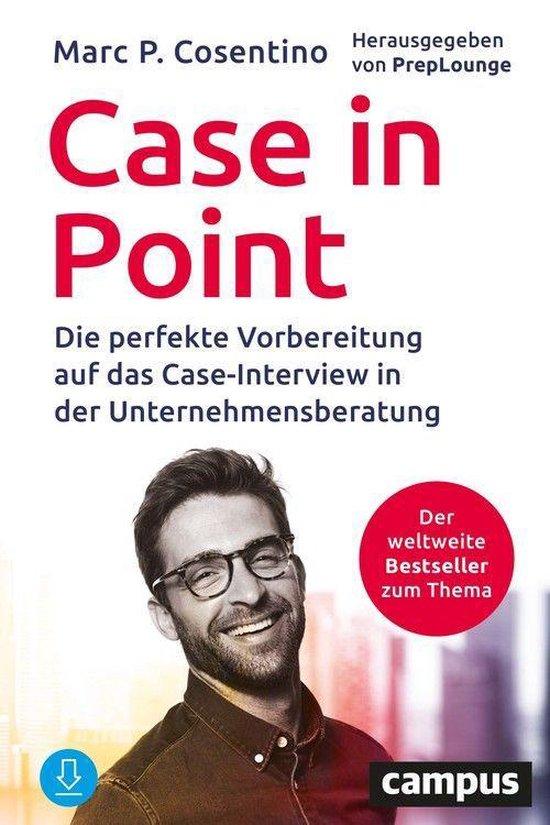 Boek cover Case In Point van Marc P. Cosentino (Onbekend)