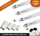 Hapro Zonnebank Lampen - vervangings-set (voor de gezichtsbruiner; Hapro Summerglow HB 175)