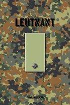 Leutnant: Vokalbelheft / Heft f�r Vokabeln - 15,24 x 22,86 cm (ca. DIN A5) - 120 Seiten