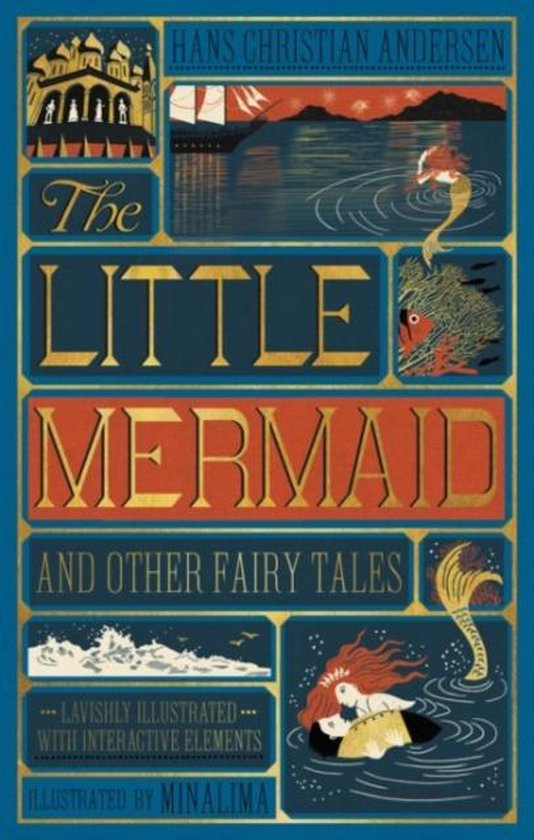 Little Mermaid and Other Fairy Tales, The (Illustrated with Interactive Elements