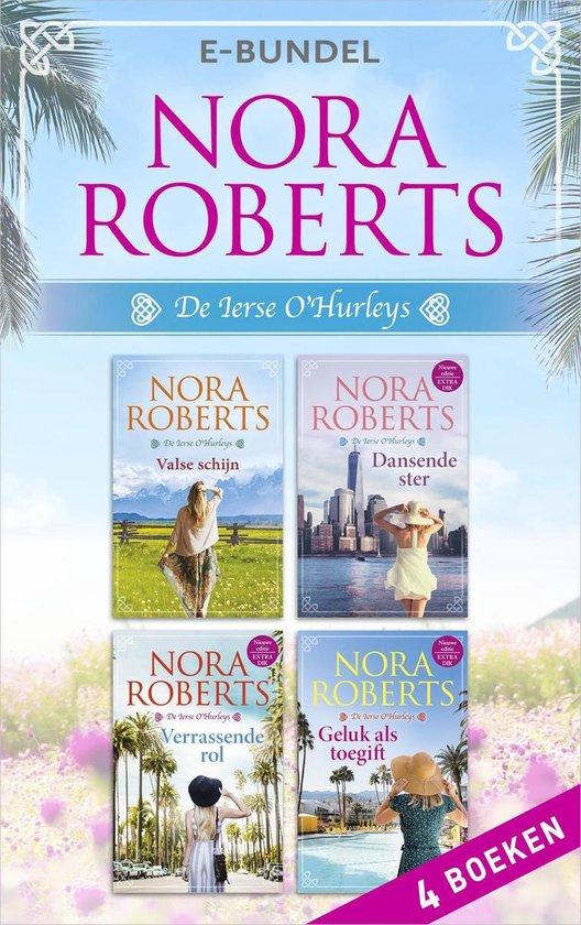 Boek cover De Ierse OHurleys van Nora Roberts (Onbekend)