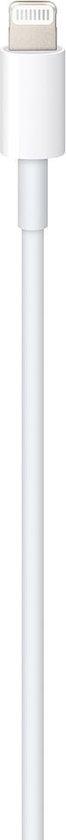 Witte USB-C naar Lightning kabel 1 meter