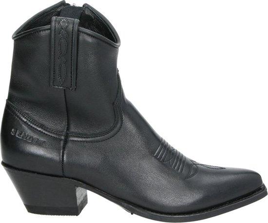   Sendra 13504 Lia Flex dames cowboylaars Zwart