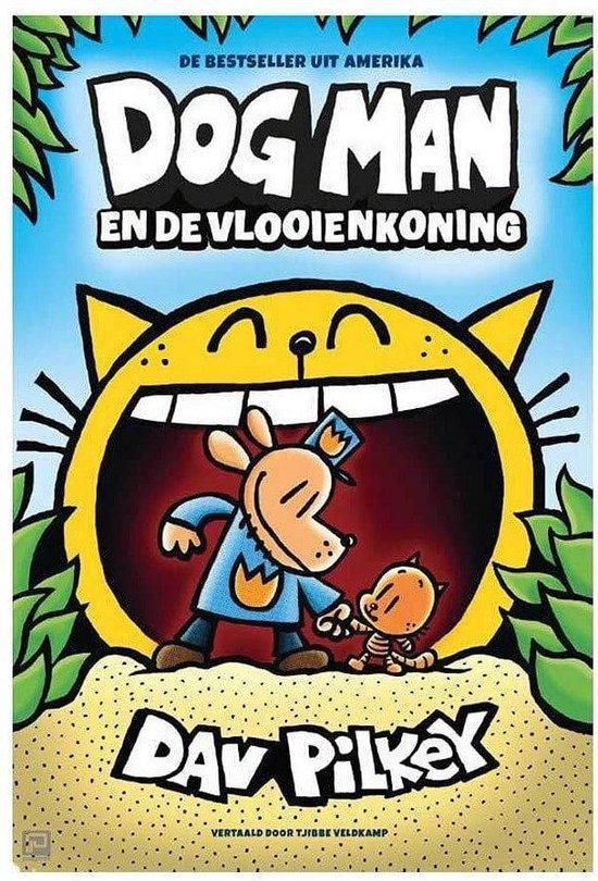 Boek cover Boek Dog Man De Vlooienkoning van Dav Pilkey (Hardcover)