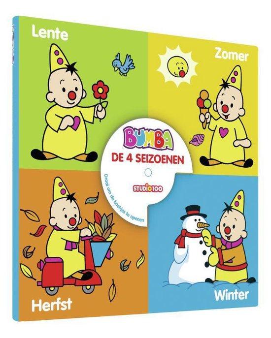 Afbeelding van Studio 100 Kartonboek 4 In 1 Bumba: De 4 Seizoenen speelgoed