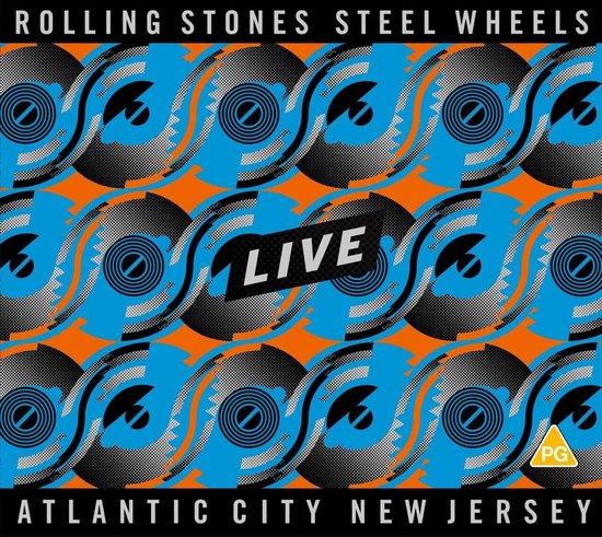 CD cover van Steel Wheels Live (2CD/DVD) van The Rolling Stones
