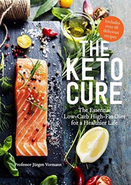 Boek cover The Keto Cure van Jurgen Vormann (Hardcover)