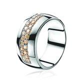 Zinzi - Zilveren Ring - Maat 62 (ZIR551C62)