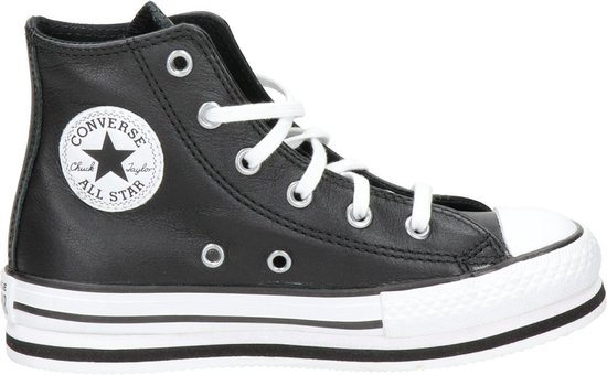 Converse Meisjes Hoge sneakers All Star Platform Eva-hi - Zwart - Maat 32