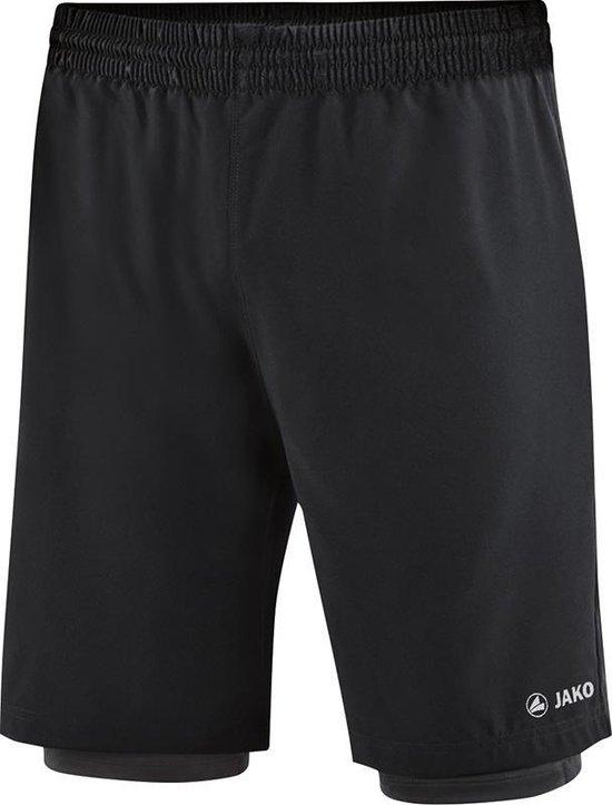 Jako 2-in-1 Short - Shorts  - zwart - L