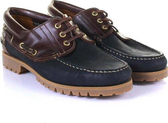 Van Bommel Bootschoen 10470 11 Blauw Bruin