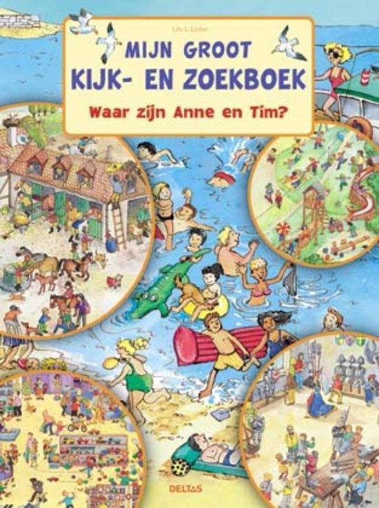 Mijn Groot Kijk- En Zoekboek - Lila L. Leiber  