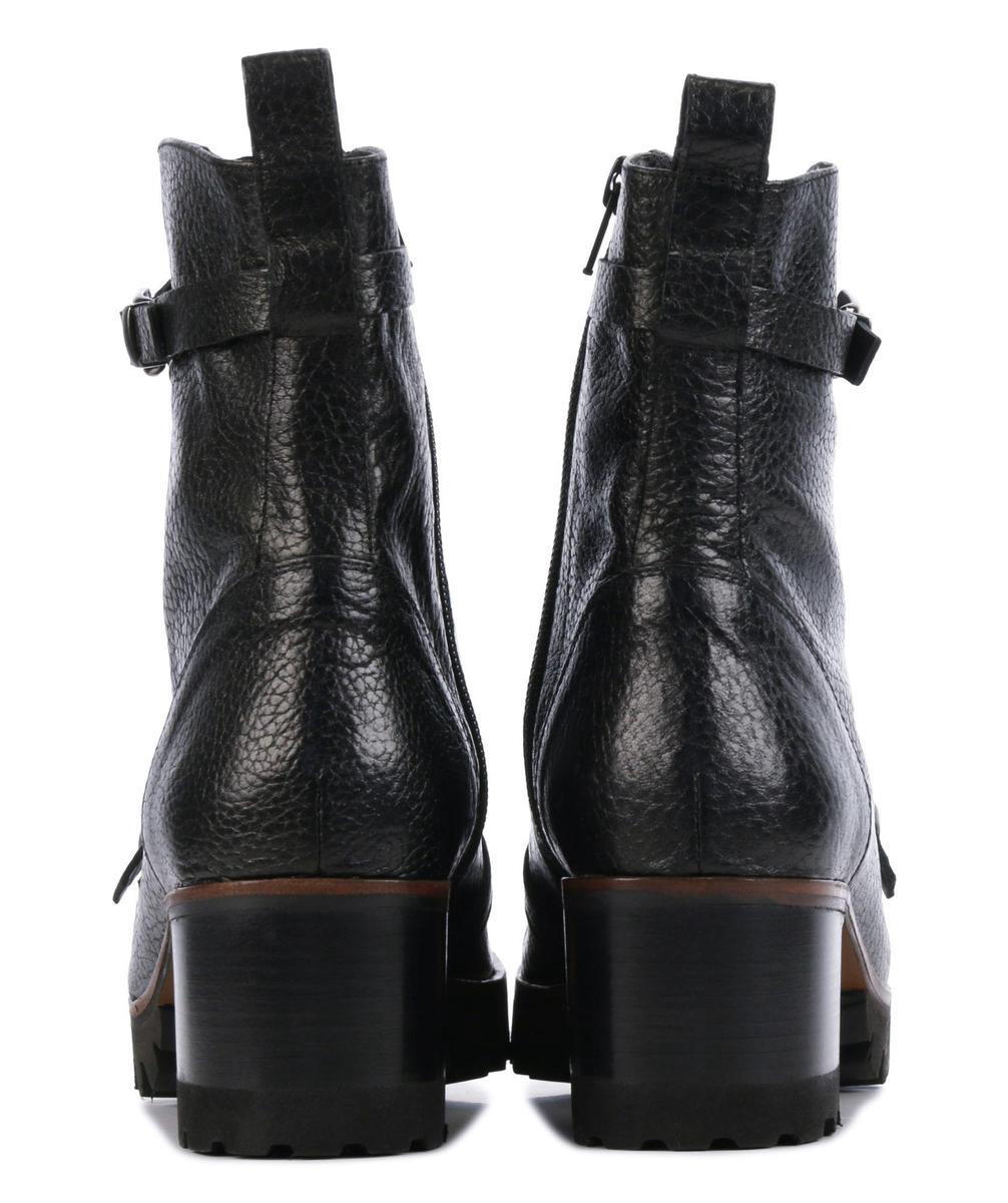 Zinda Vrouwen Enkellaarsjes -  4358 - Zwart - Maat 41 Boots
