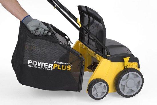 Powerplus POWXG7513 Verticuteermachine - 1400 W - 32 cm maaibreedte - 40 liter opvangzak - Met beluchter