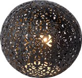 Lucide PAOLO - Tafellamp - Ø 14,5 cm - G9 - Zwart