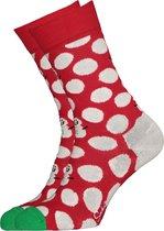Happy Socks Big Dot Snowman Sock -  Maat 41-46