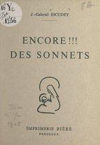 Encore !!! des sonnets