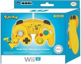 Hori Super Smash Bros Controller (Pikachu) - Geel (Wii U)