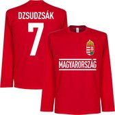 Hongarije Dzsudzsak 7 Longsleeve T-Shirt - L