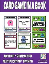 Card Game in a Book - Monster Zoo Math