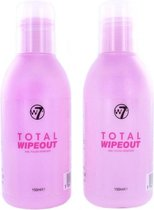 W7 Total Wipeout Nagellak Remover - 2 stuks