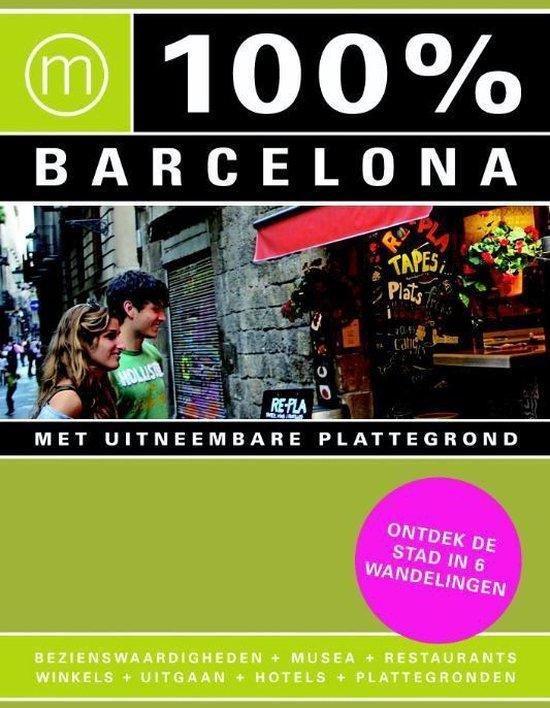Cover van het boek '100% Barcelona' van Annebeth Vis
