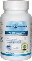 Wilde Oregano Olie 90 Softgels Plantovitamins