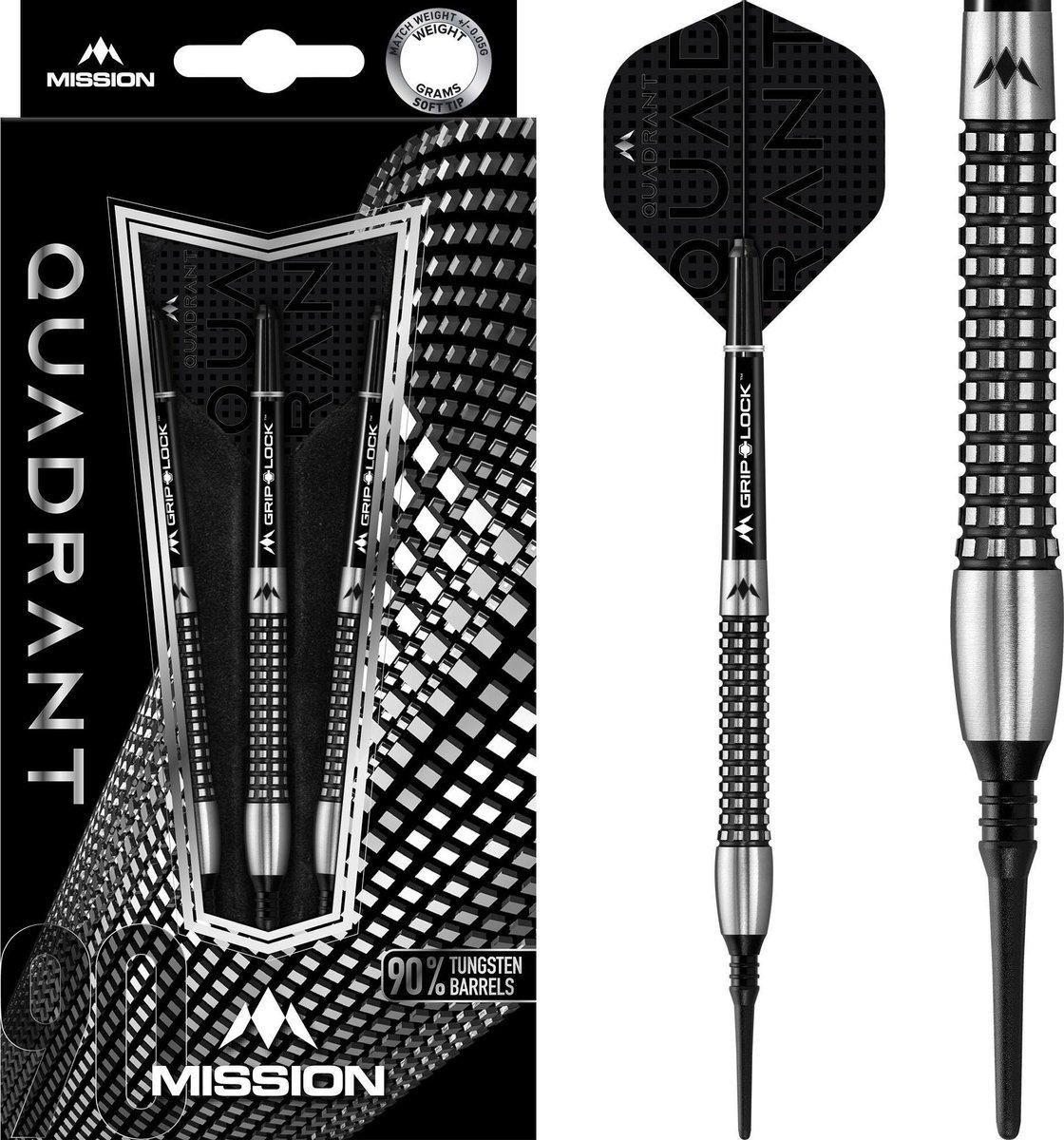 Mission Quadrant M3 90% Soft Tip - 21 Gram
