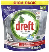 Dreft Platinum Regular - All in one - 90 Stuks - Vaatwastabletten
