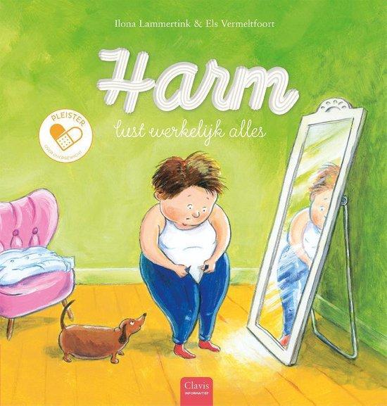 Boek cover Pleister  -   Harm lust werkelijk alles van Ilona Lammertink (Hardcover)