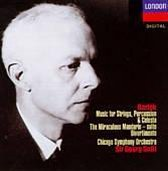Bartók: Music for Strings, Percussion & Celesta; The Miraculous Mandarin Suite; Divertimento