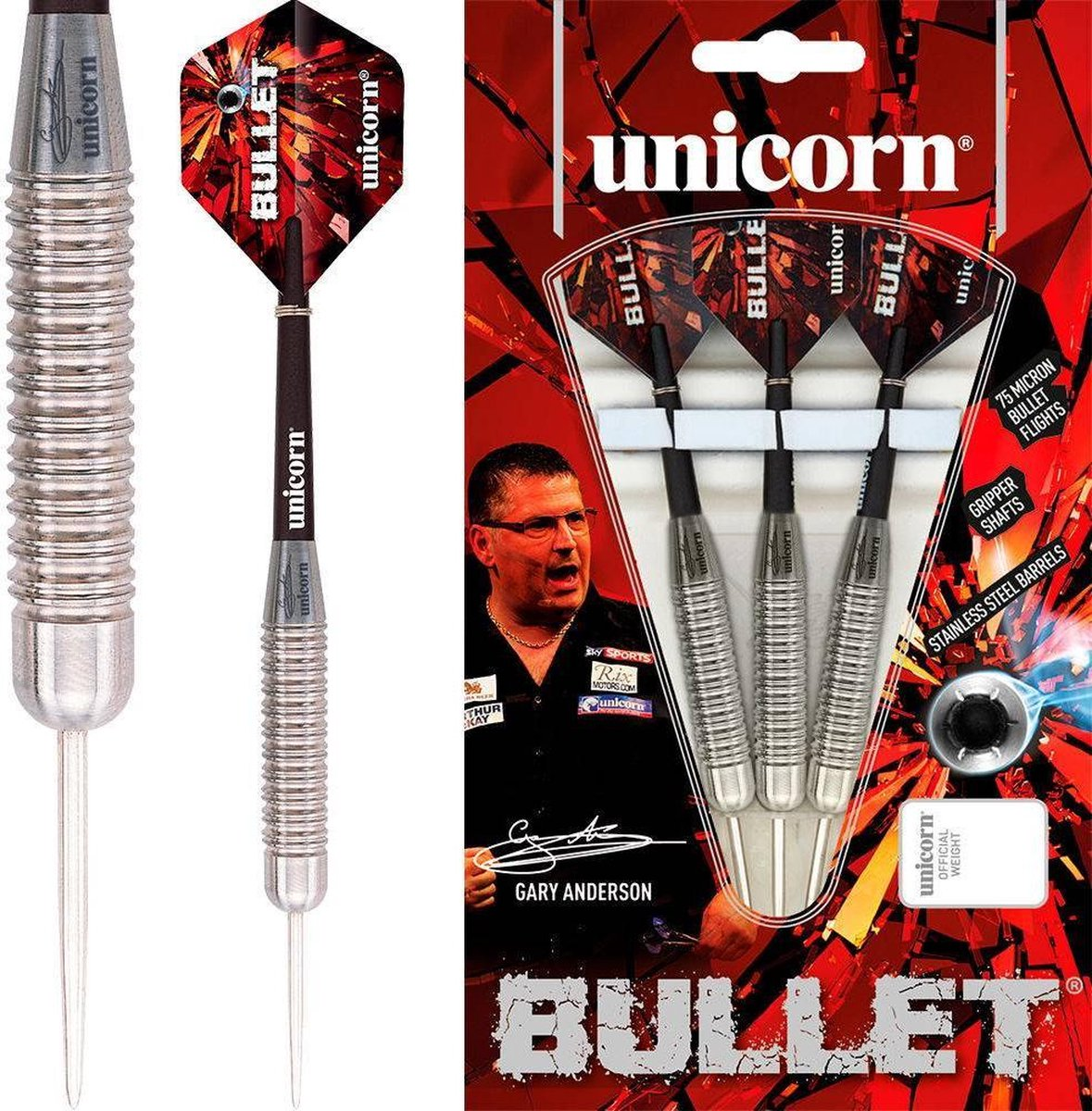 Unicorn Bullet Gary Anderson P1 - 22 Gram