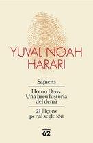 Omslag Obra completa (Pack que inclou Sàpiens, Homo Deus i 21 lliçons per al segle XXI)
