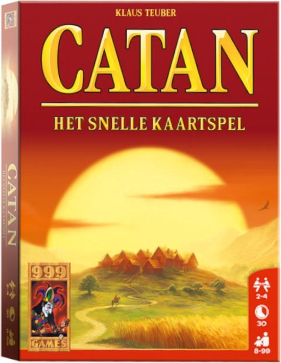 Catan - Het Snelle Kaartspel - 999 Games