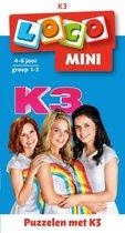 Loco Mini  -   Loco mini puzzelen met K3 (boekje)