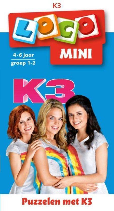 Boek cover Loco Mini  -   Loco mini puzzelen met K3 (boekje) van  (Paperback)
