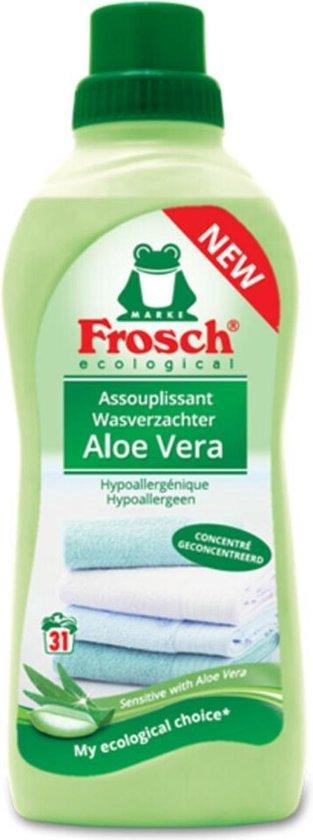 8x Frosch Wasverzachter Aloë Vera 750 ml